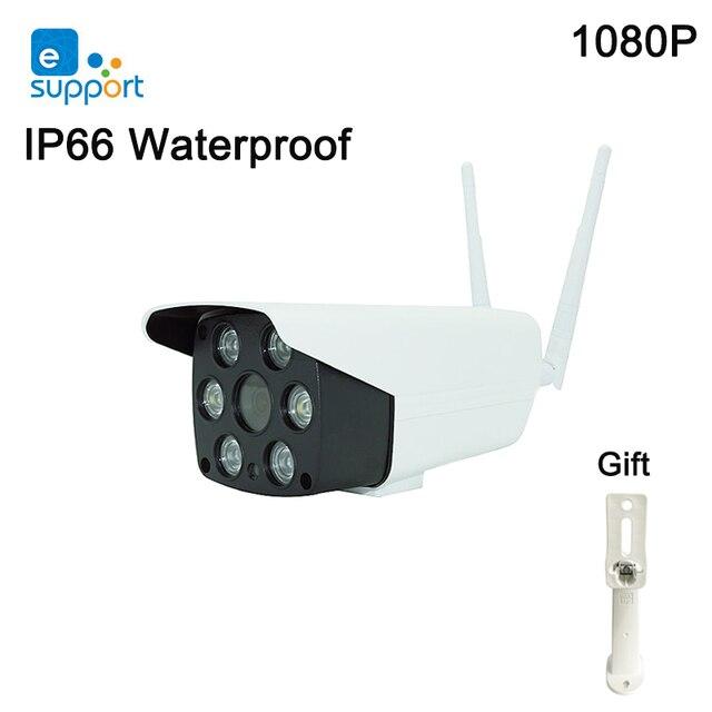 EweLink IP66 Chống Nước Ngoài Trời Camera Wifi Thông Minh IOT Camera HD 1080P Âm Thanh Hai Chiều Liên Lạc Nội Bộ Tầm Nhìn Ban Đêm Hồng Ngoại đèn LED Máy Ảnh