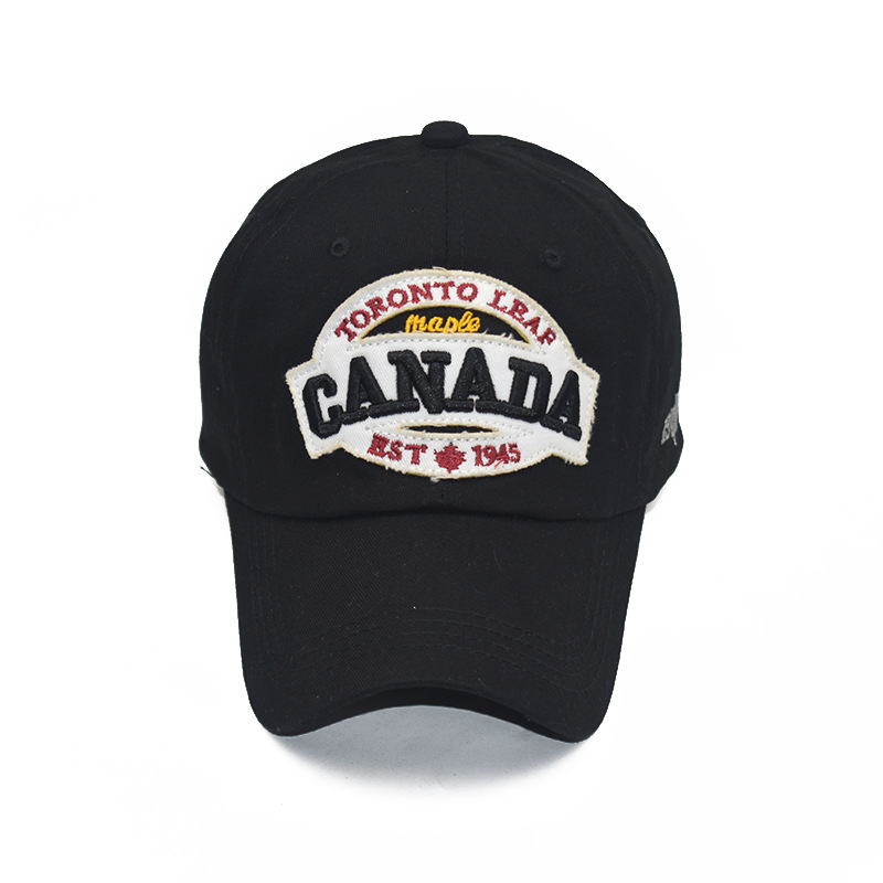 [NORTHWOOD] New Canada Cap 3d Embroidery Canada Baseball Caps Cotton Bone Snapback Hat Trucker Caps Casual Dad Hats