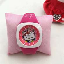 цена на Hello kitty cute children watch KT cat student watch Hello Kitty Korea cartoon watch tape