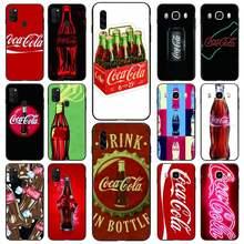 Capa de telefone cola para samsung s10 5g/lite/plus s20/plus/ultra note8/9/10/20pro/plus casos