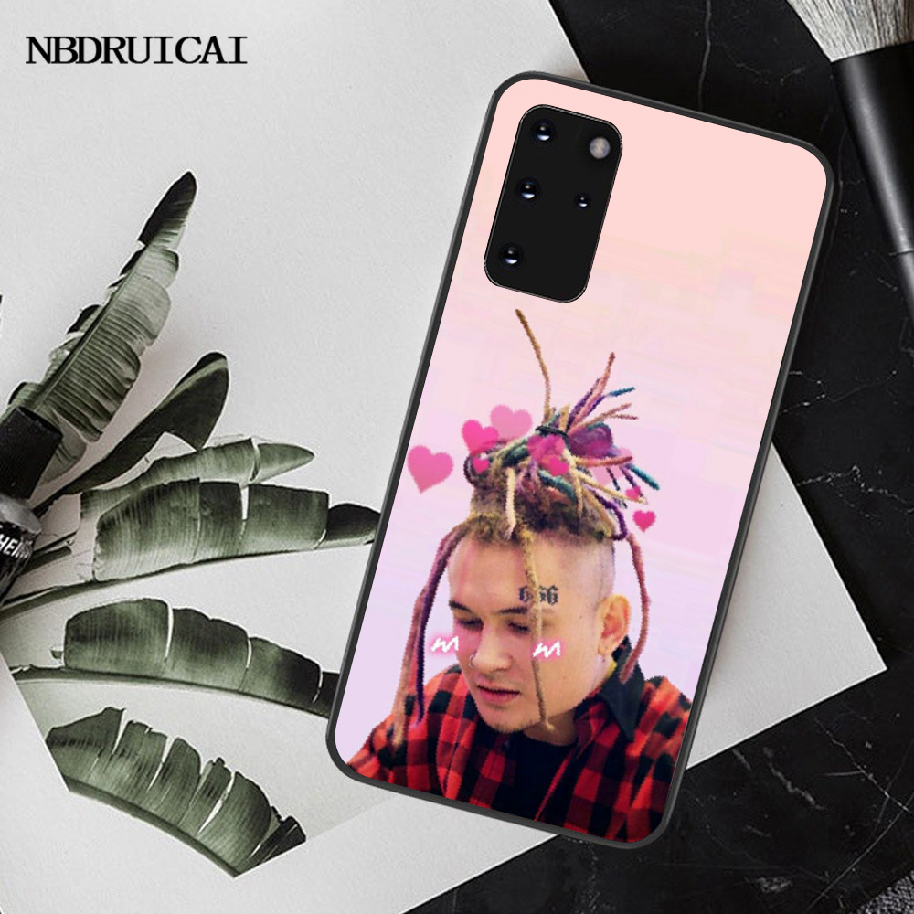 NBDRUICAI Рэппер MORGENSHTERN мягкий черный чехол для телефона Samsung S20 plus Ultra S6 S7 edge S8 S9 plus S10 5G