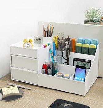 Cajas de recepción estantes de escritorio llaves escritorios artefactos escritorio papelería cajones estantes