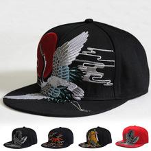 Mężczyźni czapki czapka z płaskim daszkiem czapka z daszkiem Hip Hop fantazyjne nit czapka z daszkiem czapka z daszkiem taniec uliczny czapka modny męskie i damskie czapka z płaskim daszkiem tanie tanio CN (pochodzenie) Hip Hop Czapki Adjustable Zwierząt COTTON
