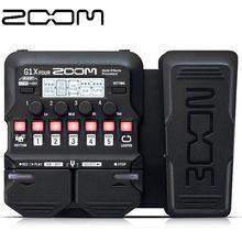 Четырехъядерный процессор ZOOM G1X для электрогитары, многофункциональные гитарные эффекты, аудио музыкальные инструменты, аксессуары G1, четы...