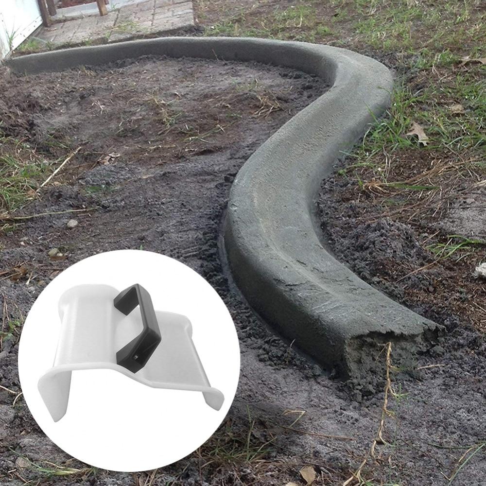 Garden DIY Modeling Plastic Soil Plaster Garden Concrete DIY Shape Fixing Clip