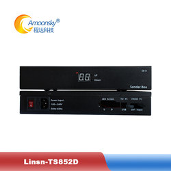 linsn ts852d sender box synchronous and combination functions TS852D led billboard sending box favourable price