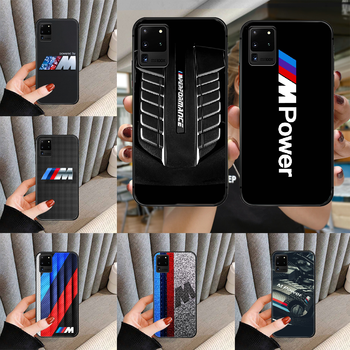 Luxury Sport Car Bmw M Phone case cover for For SamSung Galaxy S Note 7 8 9 10 20 Uitra Plus E Lite black black back trend funda image