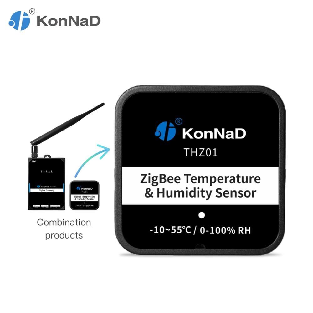ZigBee Temperature Humidity Sensor (-10~55℃) (0-100% RH) Magnet Mounting KonNaD