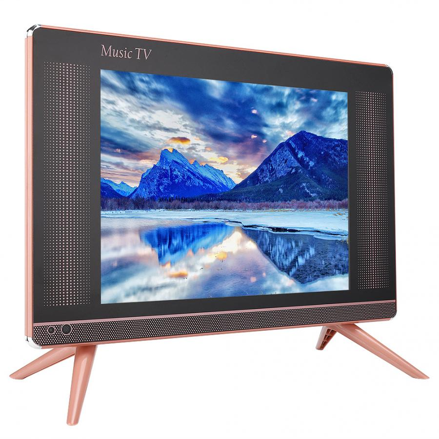 DVB-T2 Lcd Tv Mini Television Portable 15/17inch HDMI VGA With Bass Sound-Quality 110-240V