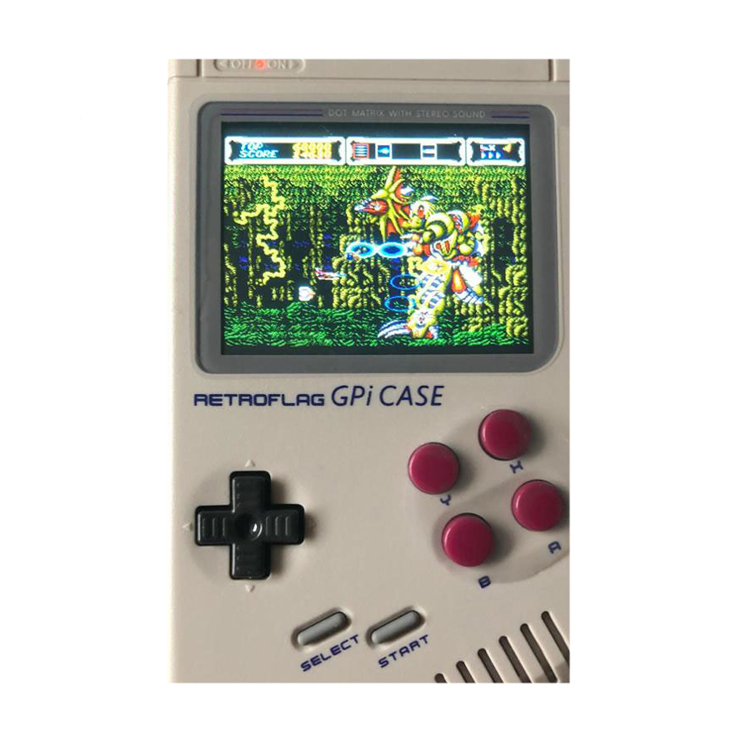 Metermall High Quality Game Case Abs Material Retroflag Gpi Case Gameboy Compatible With Raspberry Pi Zero/Zero W