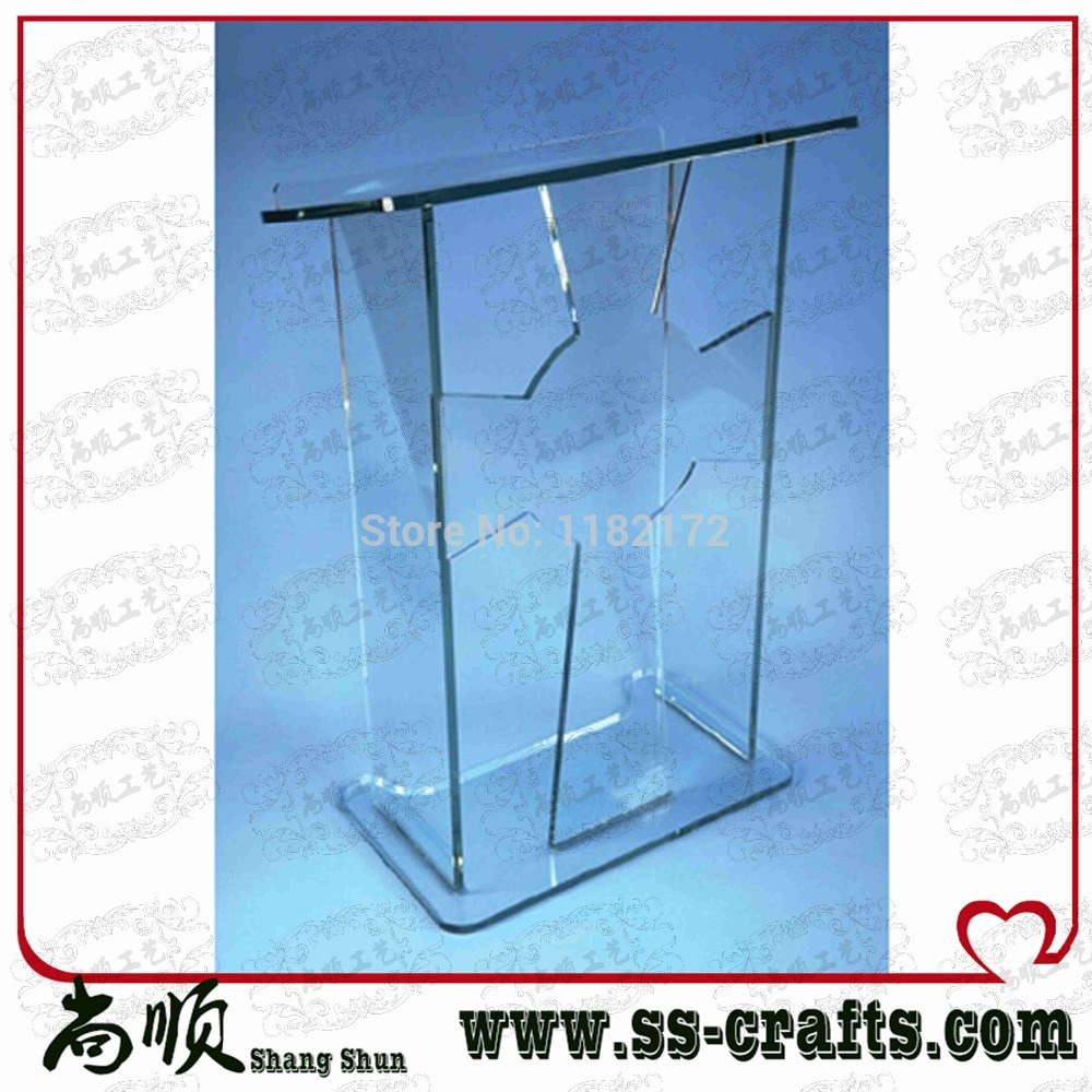Free Shipping Clear Clear Acrylic Podium Pupit Lectern
