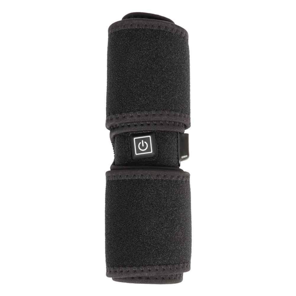 2019 Baru USB Listrik Pemanasan Bantalan Lutut Listrik Musim Dingin Termal Knee Hangat Bantalan untuk Outdoor Ridding Hiking Pelindung Lutut 2CPS