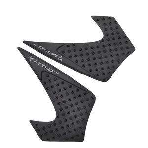 Image 5 - Motor Traction Pad Side Gas Knee Protector Anti Slip Fit For Yamaha MT 07 MT07 2014 2015 2016 2017