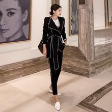 New arrival winter Women's suit fashion elegant office work wear blazer