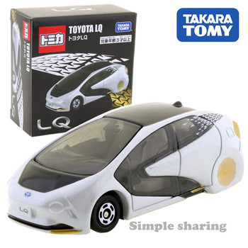 Takara Tomy Tomica Toyota LQ Scale 1/62 Car Hot Pop Kids Toys Motor Vehicle Diecast Metal Model New image