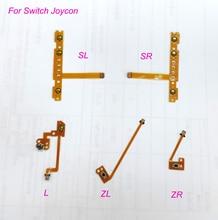 5 adet/takım yedek ZL L ZR SL SR düğme şerit Flex kablo için NS nintendo anahtarı Joy Con denetleyici onarım parçaları
