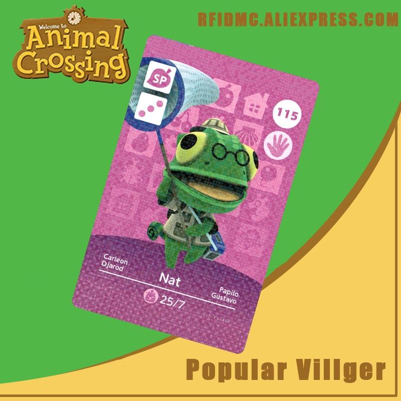 115 Nat Animal Crossing Card Amiibo For New Horizons