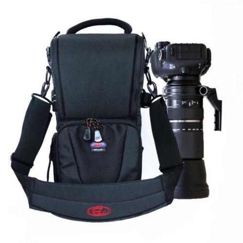 DSLR Camera Bag Handbag Telephoto Lens Pouch Case Waterproof Multi function Tamron 150 600 Sigma 150 600mm, Nikon 200 500mm