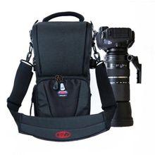 DSLR حقيبة كاميرا حقيبة يد عدسة المقربة الحقيبة مقاوم للماء متعددة الوظائف تامرون 150 600 سيغما 150 600 مللي متر ، نيكون 200 500 مللي متر