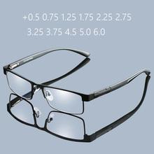 RBENN metalowa rama okulary do czytania dla mężczyzn rocznika biznes nadwzroczność okulary męskie okulary do czytania + 1 25 1 75 2 75 3 75 5 0 6 0 tanie tanio Jasne Z poliwęglanu Antyrefleksyjną RB171 Ze stopu 3 0cm 5 3cm