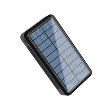Solar Power Bank 50000mAh 4 USB Type C External Battery Char