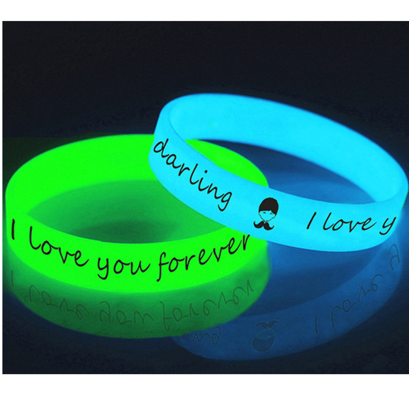 best top 10 bracelets rubber band glow in the dark list and get free  shipping - a93