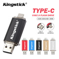 USB флеш-накопитель OTG, флешка Usb 2,0 на 128 ГБ Type C Micro Usb флешка 16 ГБ 32 ГБ 64 ГБ, флешка для устройств Type-C