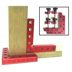 Do obróbki drewna 90 stopni w kształcie litery L pomocnicze oprawa cieśli placu kąt pozycjonowanie linijka łączenie deska mocowania klip