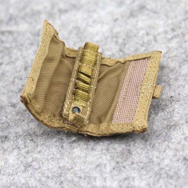 1/6 Scale Combat Bullet Bag Shotgun Belt Smoke Cartridge Bags 3 Styles Model for 12 5