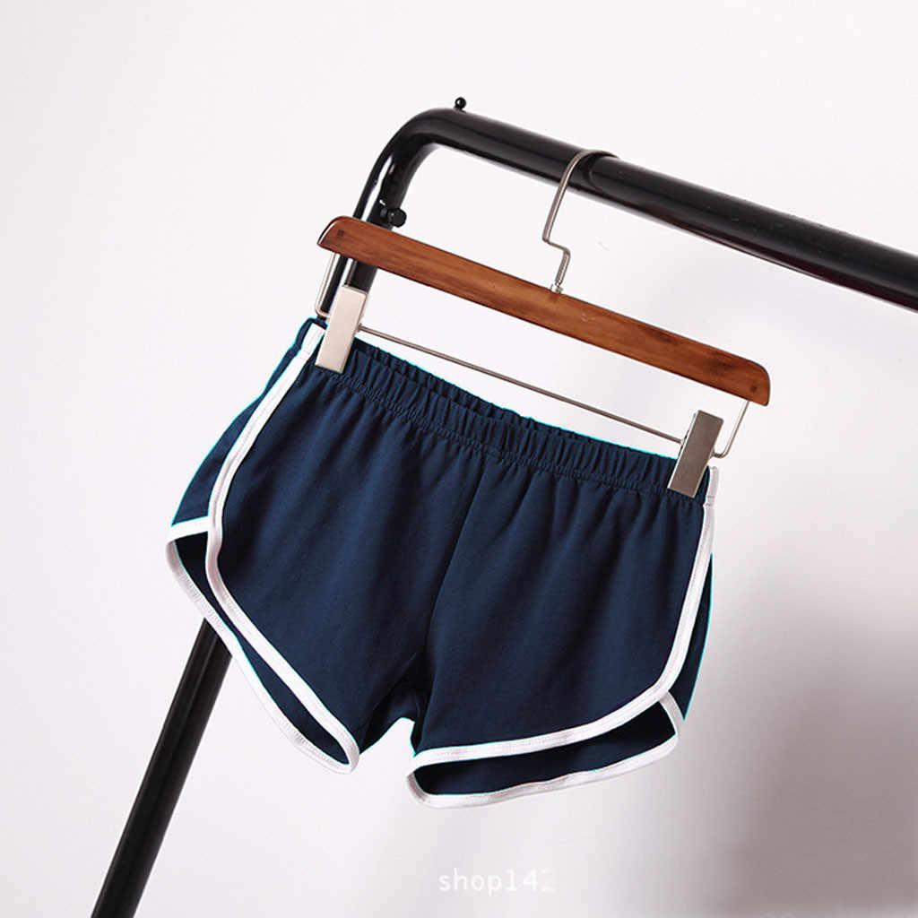 Pantalones Cortos Deportivos Para Mujer Ropa A La Moda Verano 2020 Pantalones Cortos Aliexpress