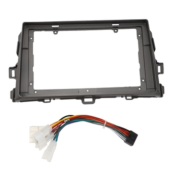2Din Car Radio Frame For Toyota Corolla 2006-2012 To 9 Inch 2 Din Car Android Multimedia Video Player image