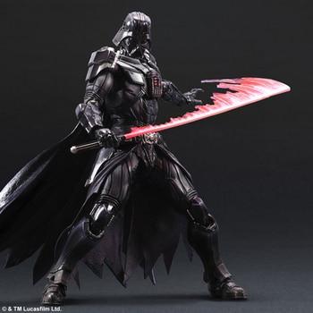Star Wars Darth Vader Black series Jedi knight Force Awakens Action figure Black Samurai Anime figure Toy for Kids One Piece