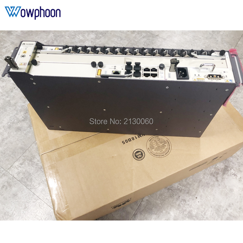 Huawei GPON OLT 10G, DC Equipment MA5608T + 1*MCUD1 + 1*MPWC + 1*GPFD 16 Port B+ C+ C++,Hua Wei Terminal Linii Optycznej