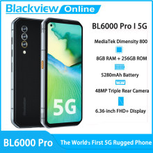 Blackview BL6000 Pro 5G Smartphone 8GB RAM + 256GB ROM 6.36