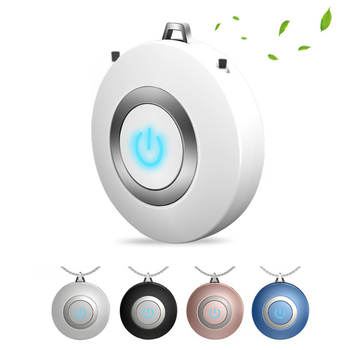 цена на Wearable Air Purifier Necklace Mini Portable USB Air Cleaner Negative Ion Generator Low Noise Air Freshener