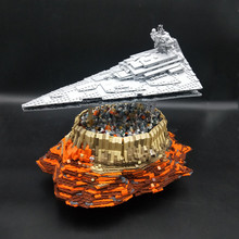 Imperial Star Destroyer Cruise Ship Wars The Empire Over Jedha City MOC 18916 Compatible legoset Building bricks Blocks Toy Gift dhl lepin 05027 3250pcs imperial super star toy war destroyer model building kit blocks bricks compatible legoed 10030