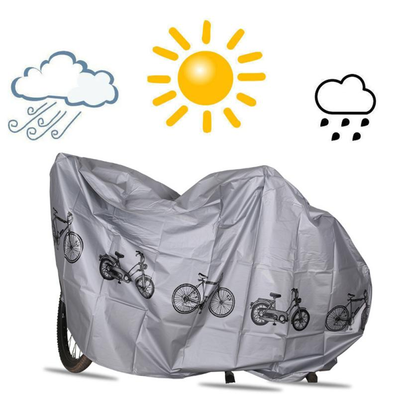 210x100cm Outdoor UV Protector Bicycle Cover Bike Rain Snow Windproof Covers Sunshine Sunscreen Motorcycle Waterproof Cover New