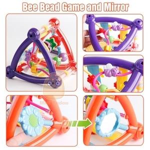 Игрушки для детей 0-12 месяцев, развивающая игрушка-погремушка для новорожденных, для мальчиков и девочек