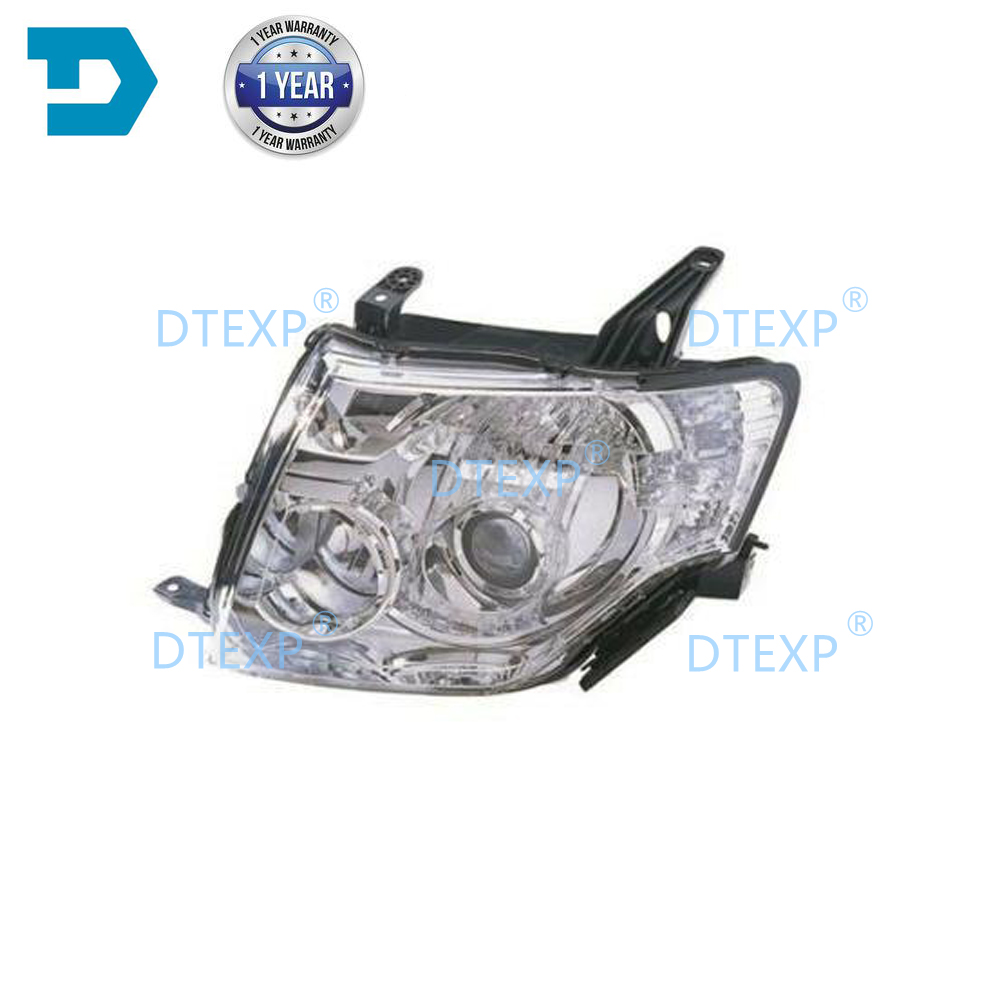 HID Headlight For Pajero V97 V93 V98 V87 Xenon Head Lamp Without Bulb No Ballast For Montero With Motor Half Assy For Shogun V95