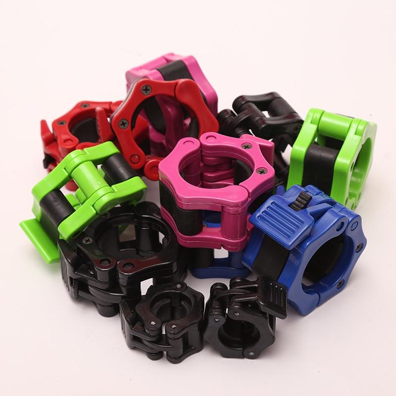 Fitness Accessories Barbell Rod Dumbbell Plastic Buckle Weighting Weightlighter Biceps Blaster 50MM 1 Pair