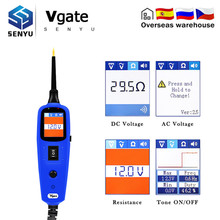 Тестер автомобильной электрической цепи, датчик мощности 12 В Vgate Pt150 тестер электрической системы as Autek YD208 Autel PS100
