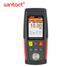 цена на Digital Ultrasonic Thickness Gauge Meter Tester 1~ 225mm with 500 groups data storage