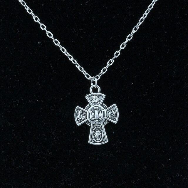 Фото 3 шт/лот сплав распятие иисуса христа крест религия амулеты