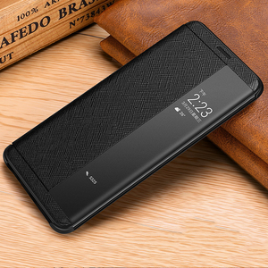 Image 2 - Vintage Cross Genuine Leather Case For Huawei Mate 20 RS Porsche Design Thin Smart Awake Sleep Flip Case Cover Mate 20 Pro X RS