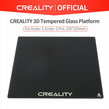 CREALITY 3D Tempered Glass Plate 235*235mmm For Ender-3 CR-20 Pro Ender-3Pro Ender-53D Printer Optional
