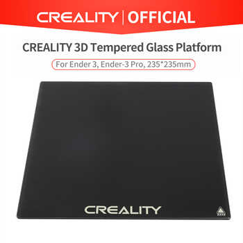 CREALITY 3D Tempered Glass Plate 235*235mmm For Ender-3 CR-20 Pro Ender-3Pro Ender-53D Printer Optional - DISCOUNT ITEM  24 OFF Computer & Office