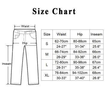 revival Leggings Size chart