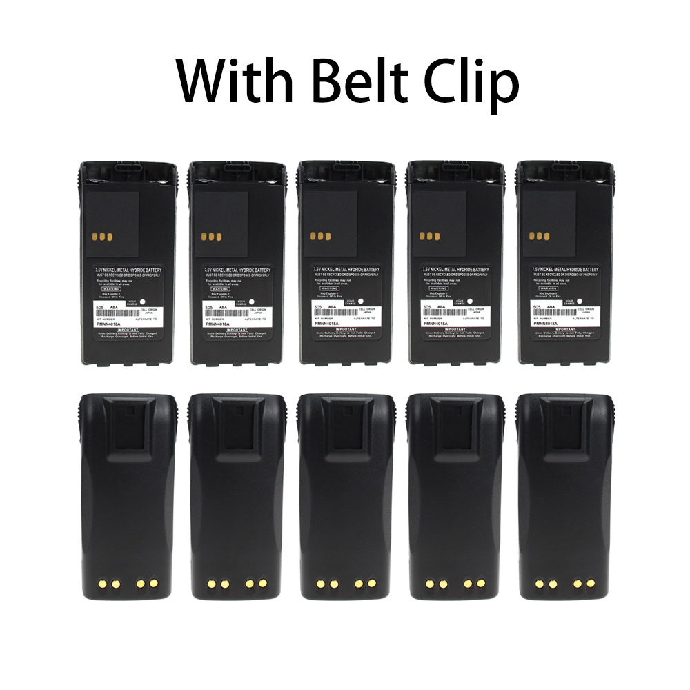 10X Replacement Battery Part No.PMNN4017,PMNN4018,PMNN4018AR for Motorola CT150,CT250,CT450,Two-Way Radio