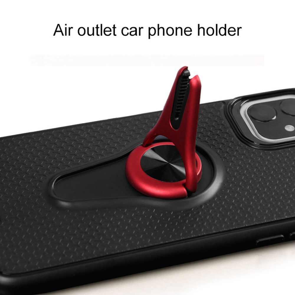 KEYSION Air Vent Mount ผู้ถือรถสำหรับ iPhone 11 11 Pro Max ผู้ถือรถแม่เหล็กกลับสำหรับ iPhone 11 Pro Max funda