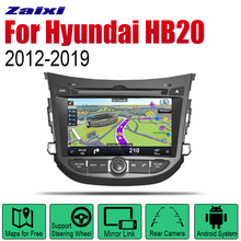 ZaiXi Android 2 Din Auto Radio DVD For Hyundai HB20 2012~2019 Car Multimedia Player GPS Navigation System Radio Stereo 2 din car multimedia player android auto radio for mini one cooper s hatch 2018 2019 dvd gps car radio stereo gps navigation